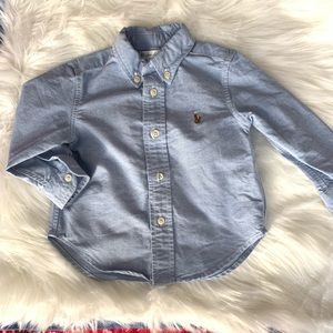 Ralph Lauren Shirt for 12 month old baby boy